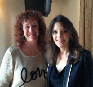 Jackie and Marianne Williamson