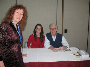Jackie with Brian Weiss